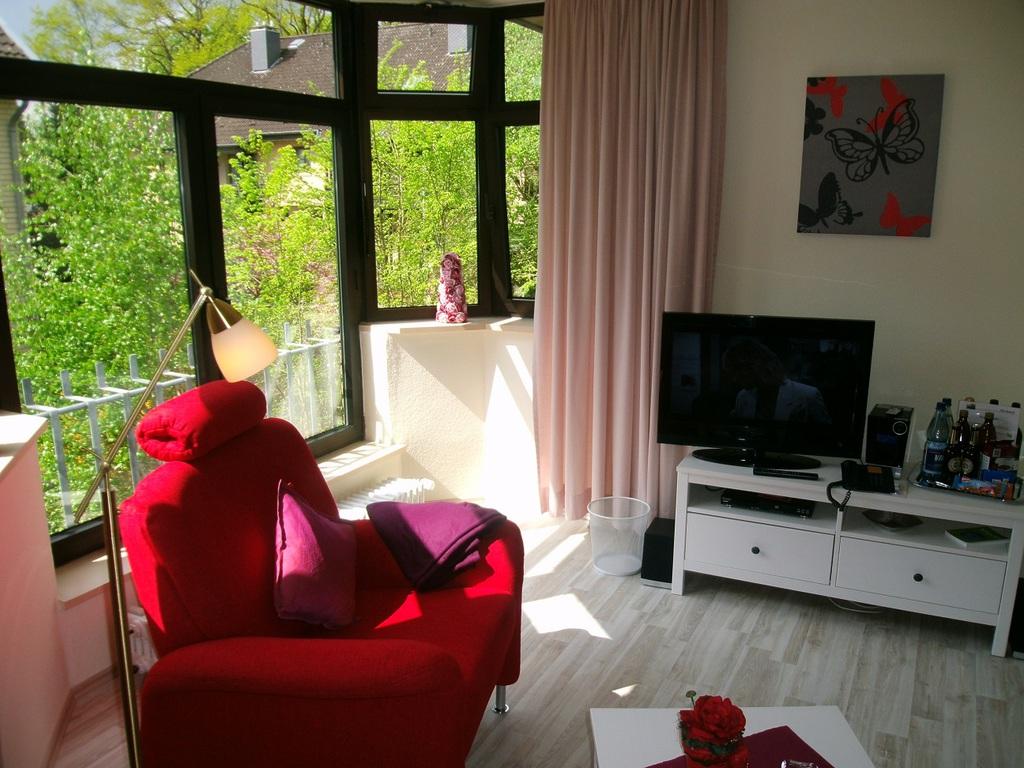 Diadem Nr 9 im Haus Roseneck Wellness Ferienwohnungen Bad