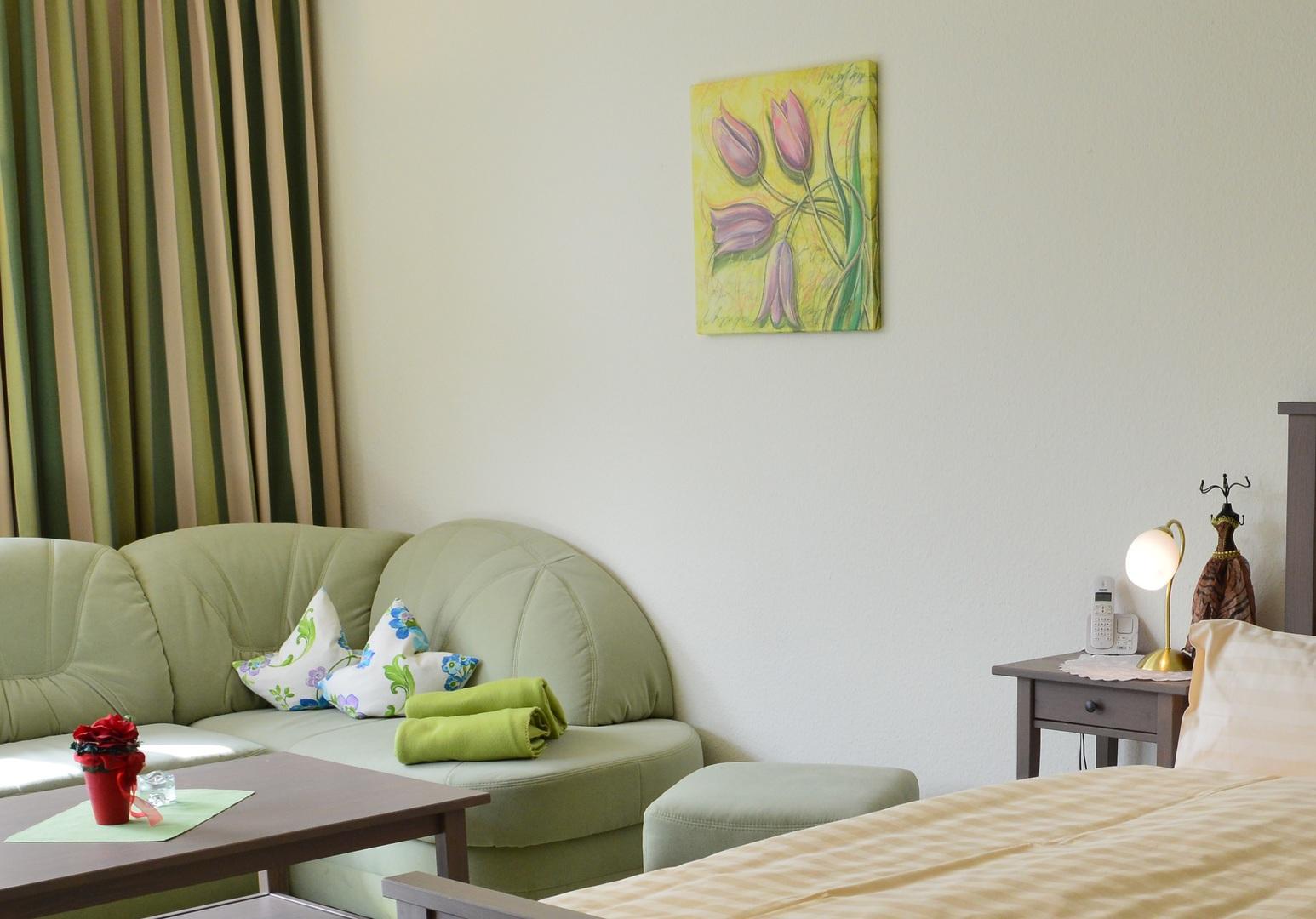 Baccara Nr 6 im Haus Roseneck Ferienwohnungen Bad